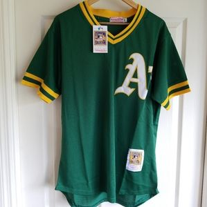 RICKEY HENDERSON OAKLAND ATHLETICS JERSEY